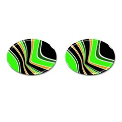 Colors of 70 s Cufflinks (Oval)