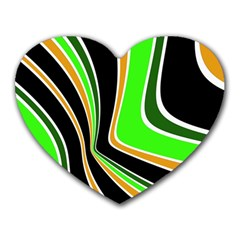 Colors of 70 s Heart Mousepads