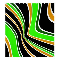 Colors of 70 s Shower Curtain 66  x 72  (Large)