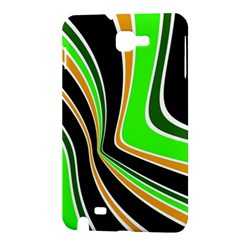 Colors of 70 s Samsung Galaxy Note 1 Hardshell Case