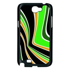 Colors of 70 s Samsung Galaxy Note 2 Case (Black)