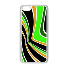Colors of 70 s Apple iPhone 5C Seamless Case (White)