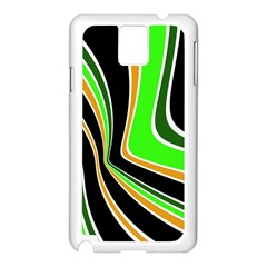 Colors of 70 s Samsung Galaxy Note 3 N9005 Case (White)