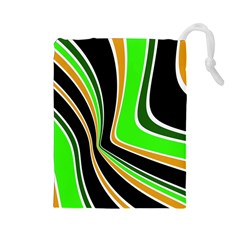 Colors of 70 s Drawstring Pouches (Large)