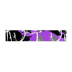 Purple Scene Kid Flano Scarf (Mini)