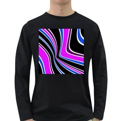 Colors of 70 s Long Sleeve Dark T-Shirts