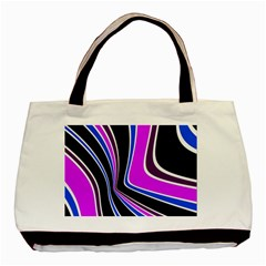 Colors Of 70 s Basic Tote Bag