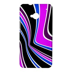 Colors of 70 s HTC One M7 Hardshell Case