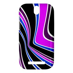 Colors of 70 s HTC One SV Hardshell Case