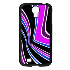 Colors of 70 s Samsung Galaxy S4 I9500/ I9505 Case (Black)