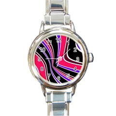 Colors of 70 s Round Italian Charm Watch