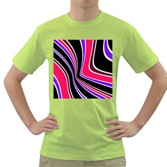 Colors of 70 s Green T-Shirt