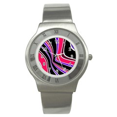 Colors of 70 s Stainless Steel Watch