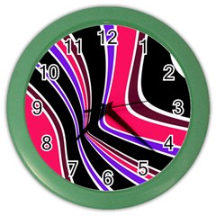 Colors of 70 s Color Wall Clocks