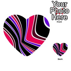 Colors of 70 s Multi-purpose Cards (Heart)