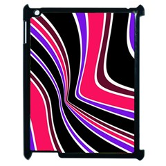 Colors of 70 s Apple iPad 2 Case (Black)