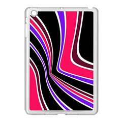 Colors of 70 s Apple iPad Mini Case (White)