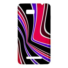 Colors of 70 s HTC One SU T528W Hardshell Case