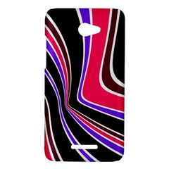 Colors of 70 s HTC Butterfly X920E Hardshell Case