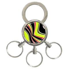 Colors of 70 s 3-Ring Key Chains