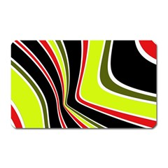 Colors of 70 s Magnet (Rectangular)