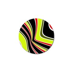 Colors of 70 s Golf Ball Marker (10 pack)