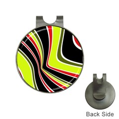 Colors of 70 s Hat Clips with Golf Markers