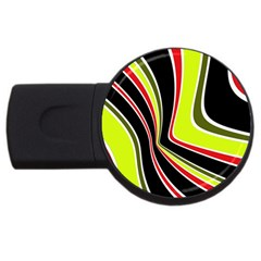 Colors of 70 s USB Flash Drive Round (4 GB)