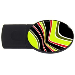 Colors of 70 s USB Flash Drive Oval (4 GB)