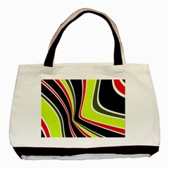 Colors of 70 s Basic Tote Bag (Two Sides)