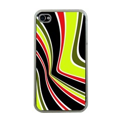 Colors of 70 s Apple iPhone 4 Case (Clear)