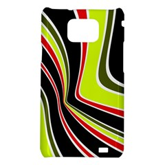 Colors of 70 s Samsung Galaxy S2 i9100 Hardshell Case