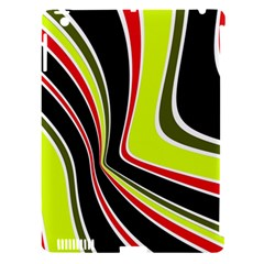 Colors of 70 s Apple iPad 3/4 Hardshell Case (Compatible with Smart Cover)