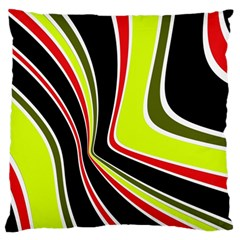 Colors of 70 s Large Cushion Case (Two Sides)
