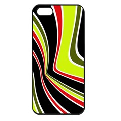 Colors of 70 s Apple iPhone 5 Seamless Case (Black)