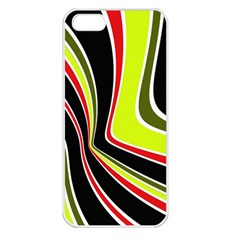Colors of 70 s Apple iPhone 5 Seamless Case (White)