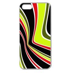 Colors of 70 s Apple Seamless iPhone 5 Case (Clear)