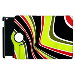 Colors Of 70 s Apple Ipad 3/4 Flip 360 Case