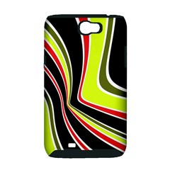 Colors of 70 s Samsung Galaxy Note 2 Hardshell Case (PC+Silicone)
