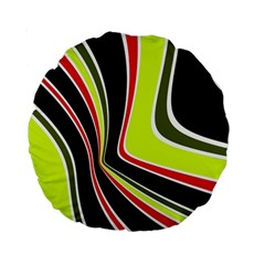 Colors of 70 s Standard 15  Premium Round Cushions