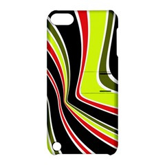 Colors of 70 s Apple iPod Touch 5 Hardshell Case with Stand