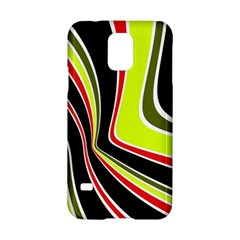 Colors of 70 s Samsung Galaxy S5 Hardshell Case