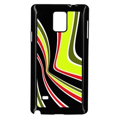 Colors of 70 s Samsung Galaxy Note 4 Case (Black)