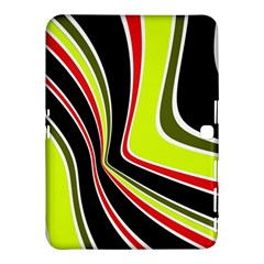 Colors of 70 s Samsung Galaxy Tab 4 (10.1 ) Hardshell Case