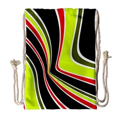 Colors of 70 s Drawstring Bag (Large)
