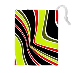 Colors of 70 s Drawstring Pouches (Extra Large)