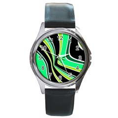 Colors of 70 s Round Metal Watch