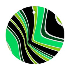 Colors of 70 s Ornament (Round)
