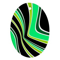 Colors of 70 s Ornament (Oval)