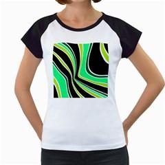 Colors of 70 s Women s Cap Sleeve T